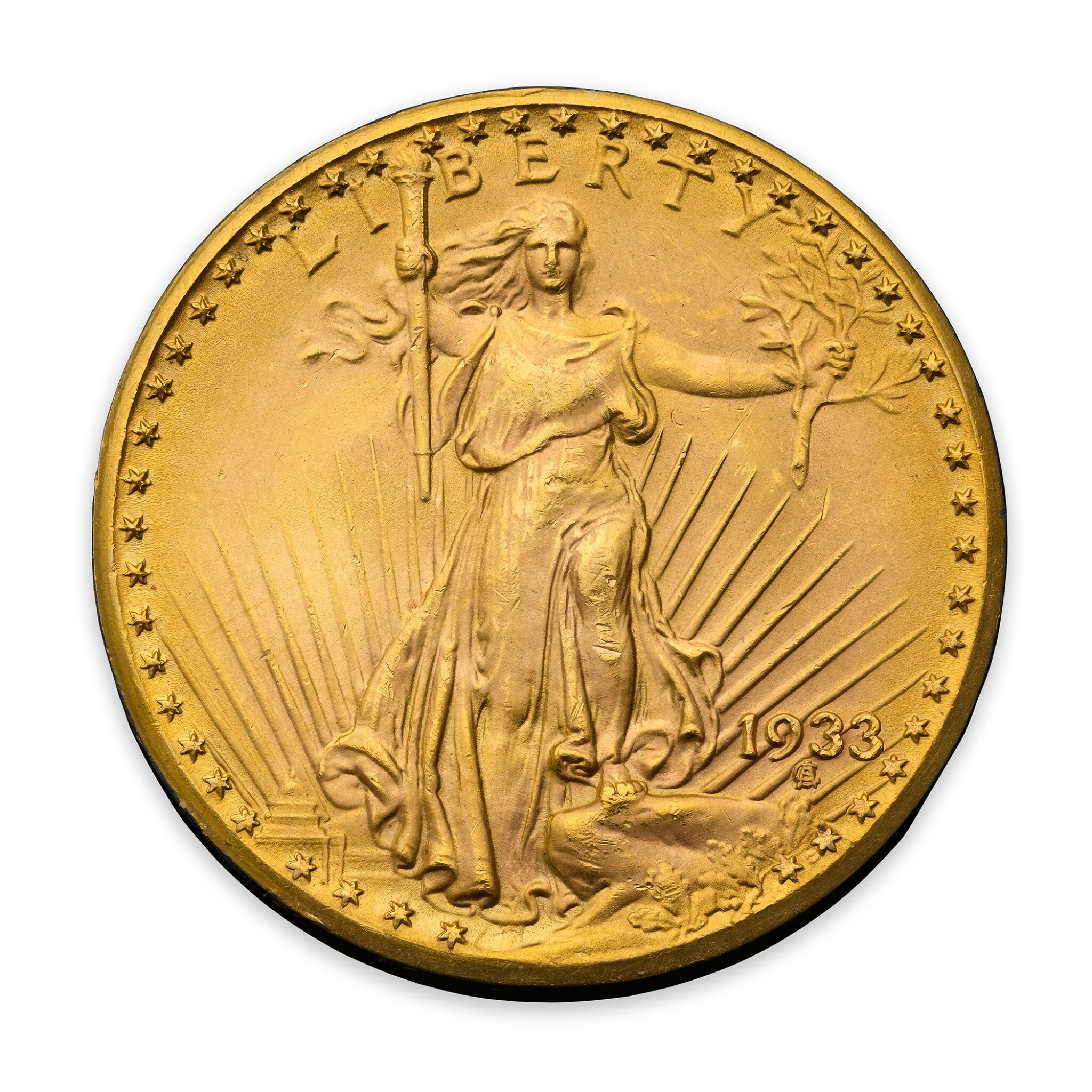 View full screen - View 1 of Lot 1. The 1933 Double Eagle.