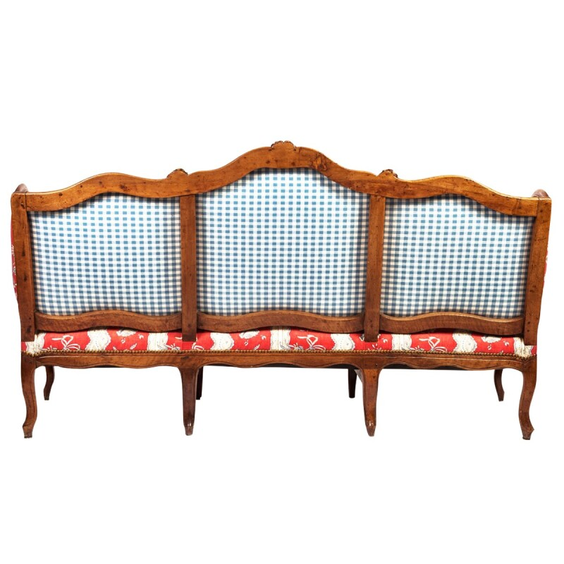 Louis XV Upholstered Canapé