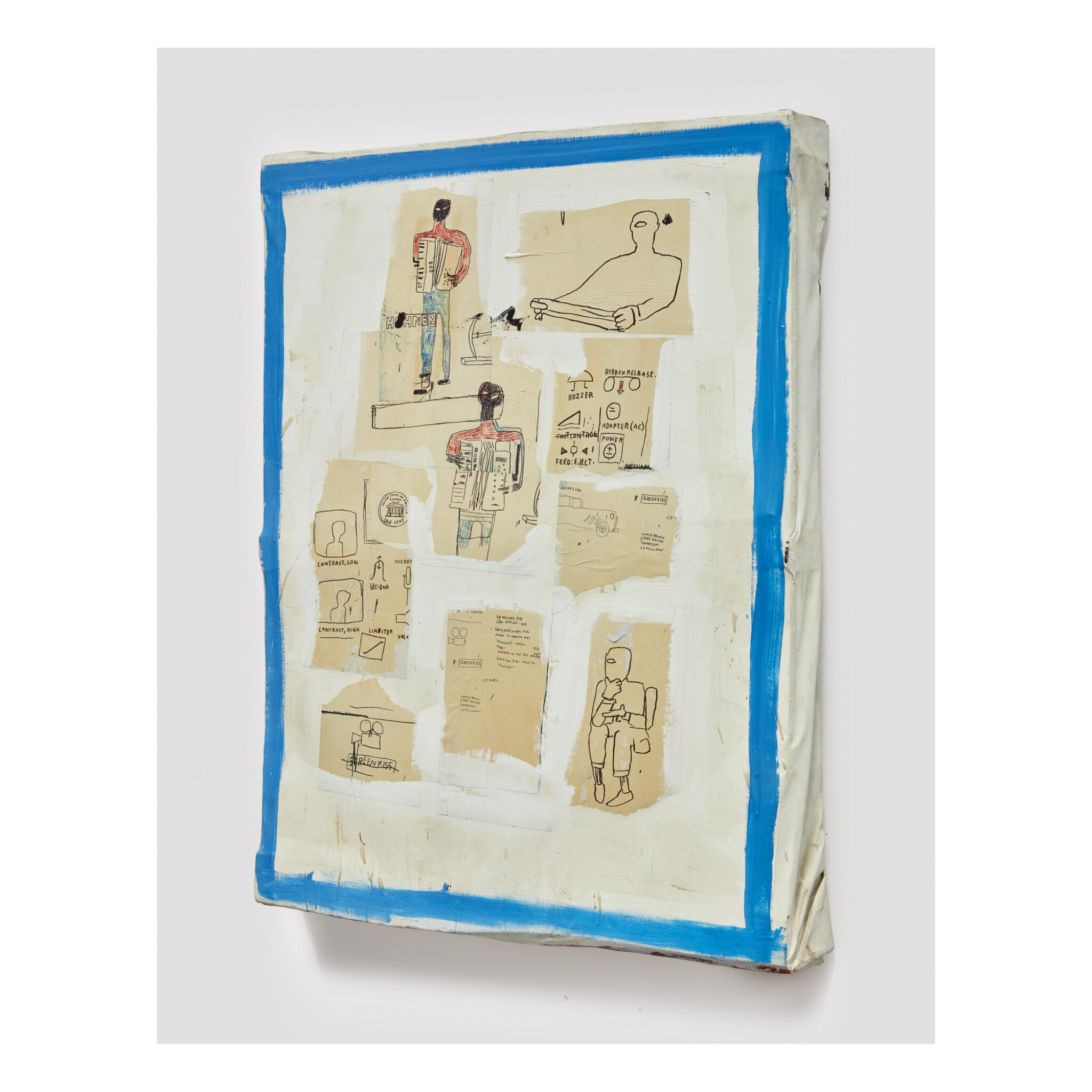 View full screen - View 1 of Lot 117. JEAN-MICHEL BASQUIAT | UNTITLED.