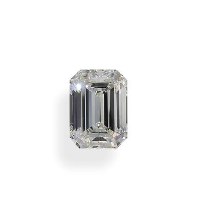A 3.14 Carat Emerald-Cut Diamond, I Color, VVS1 Clarity