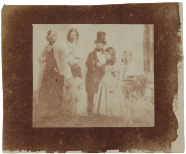View 1. Thumbnail of Lot 11. William Henry Fox Talbot's Gifts to his Sister: Horatia Gaisford's Collection of Photographs and Ephemera.