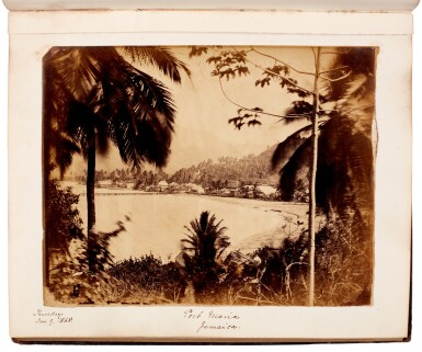 View 4. Thumbnail of Lot 40. BARKER, and others | Album of photographs of New Zealand, Jamaica and England, 1863-82.