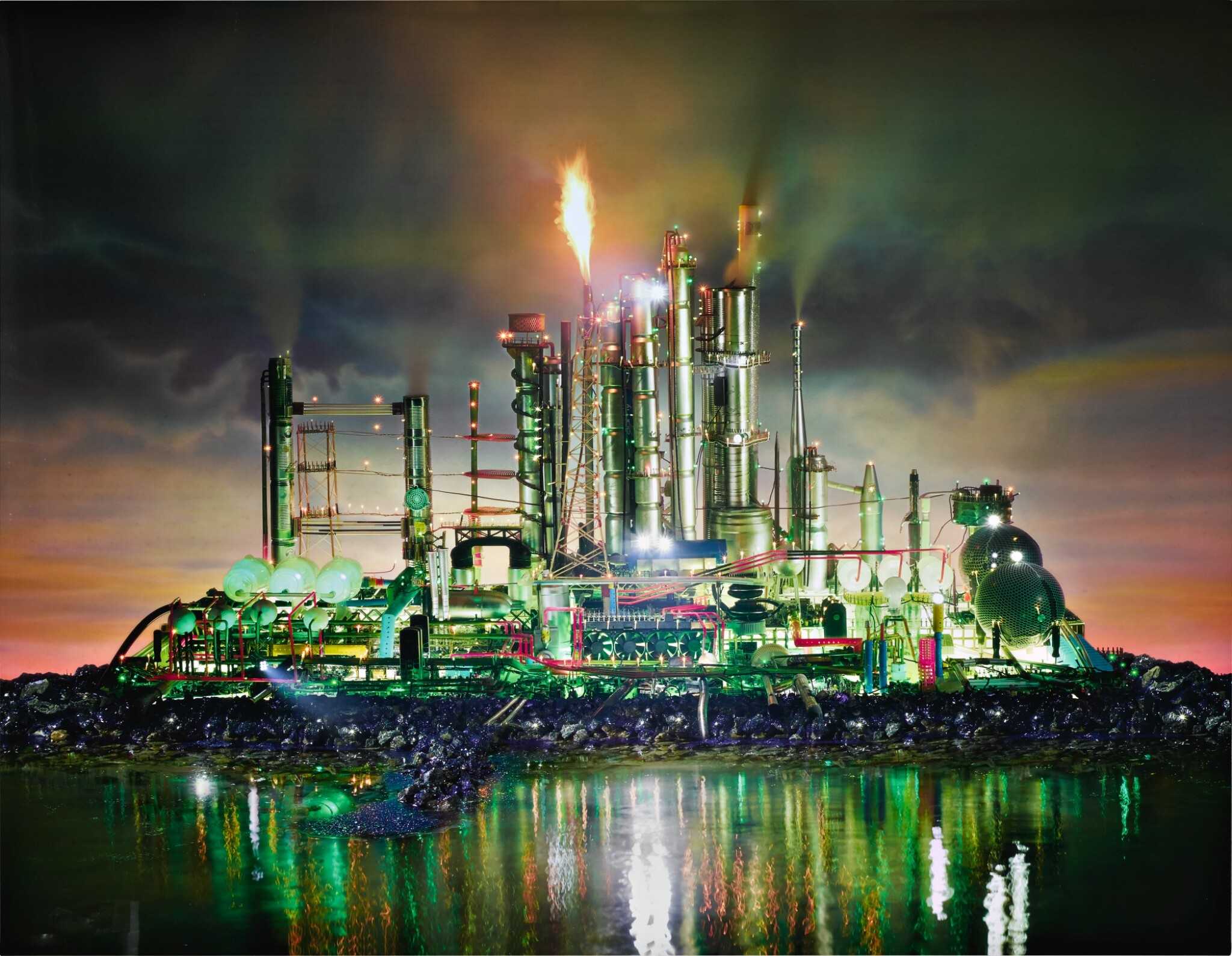 View full screen - View 1 of Lot 57. DAVID LACHAPELLE | LAND SCAPE EMERALD CITY.