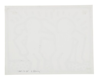 View 2. Thumbnail of Lot 201. Untitled (Pop Shop Drawing).
