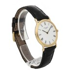 PATEK PHILIPPE | CALATRAVA REF 3520/D, A YELLOW GOLD CENTER SECONDS WRISTWATCH CIRCA 1977