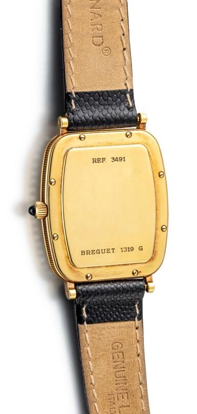 BREGUET | REFERENCE 3491, A YELLOW GOLD AND DIAMOND-SET WRISTWATCH, CIRCA 2000