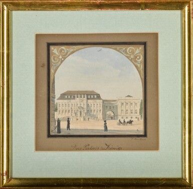 View 2. Thumbnail of Lot 65. Das Palais des Königs (The King's Palace).