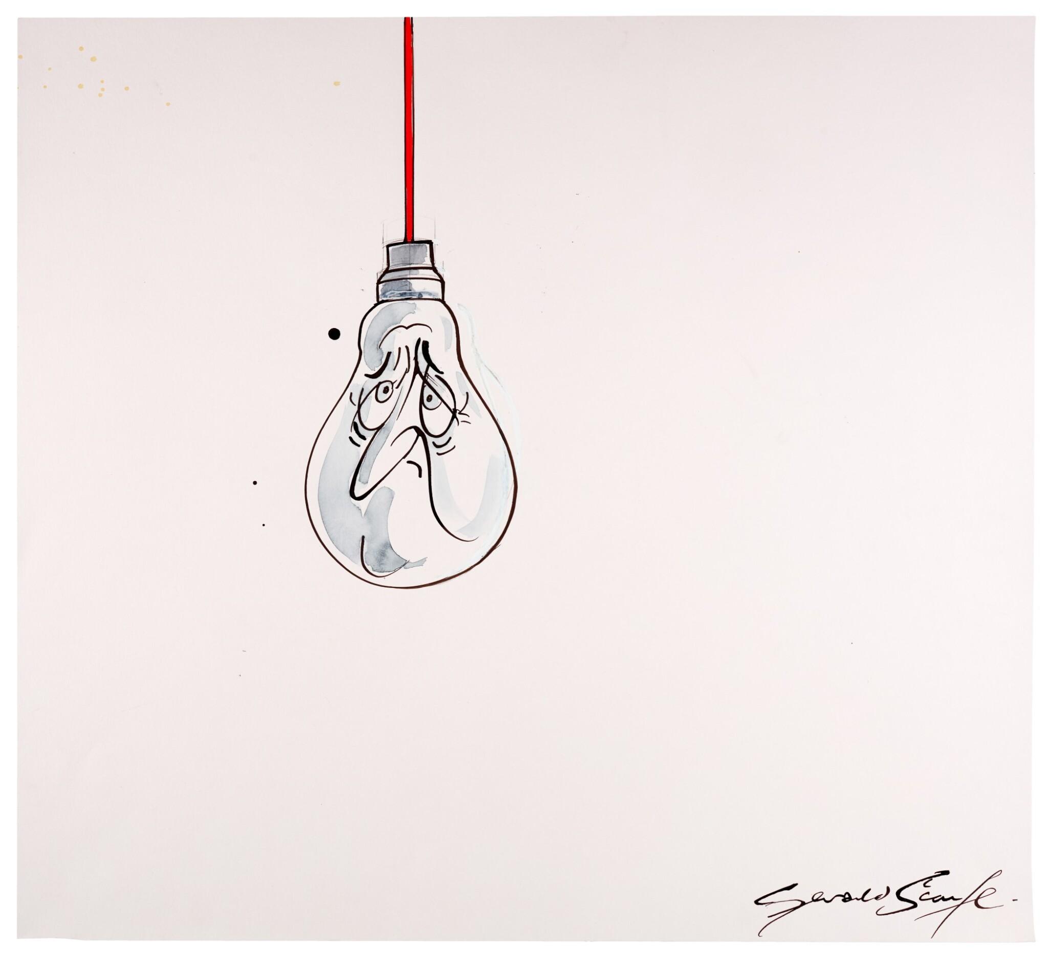 "SCARFE | [THE 2010s] | ""In the Dark"" [David Cameron]"