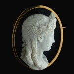 ATTRIBUTED TO ANGELO (1754-CIRCA 1816) OR NICCOLÒ AMASTINI (1780-1851)  ITALIAN, ROME, EARLY 19TH CENTURY  AFTER THE ANTIQUE | CAMEO WITH APOLLO