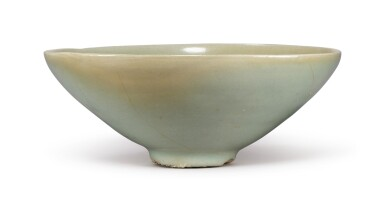 View 1. Thumbnail of Lot 1070.  A CARVED CELADON-GLAZED BOWL,  KOREA, GORYEO DYNASTY, 13TH / 14TH CENTURY.