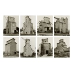 BERND AND HILLA BECHER | 'GRAIN ELEVATORS, HOUSE KIND'