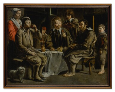 View 3. Thumbnail of Lot 52. The Peasant's Meal.