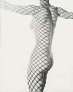 Erwin Blumenfeld | Nude behind the scenes, New York, 1953