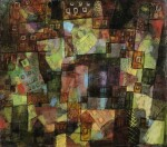 PAUL KLEE | VILLEN (VERSINKENDE) UND BARACKEN (AUFSTEIGENDE) (VILLAS (SINKING) AND SHACKS (RISING))