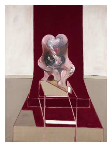 View 4. Thumbnail of Lot 105. FRANCIS BACON | TRIPTYCH INSPIRED BY THE ORESTEIA OF AESCHYLUS.