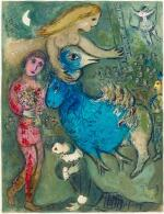 MARC CHAGALL   LE CIRQUE: ONE PLATE (M. 490; C. BKS. 68)