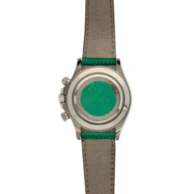 View 5. Thumbnail of Lot 208. Reference 116519 'Daytona Beach'  A white gold automatic chronograph wristwatch, Circa 2000.