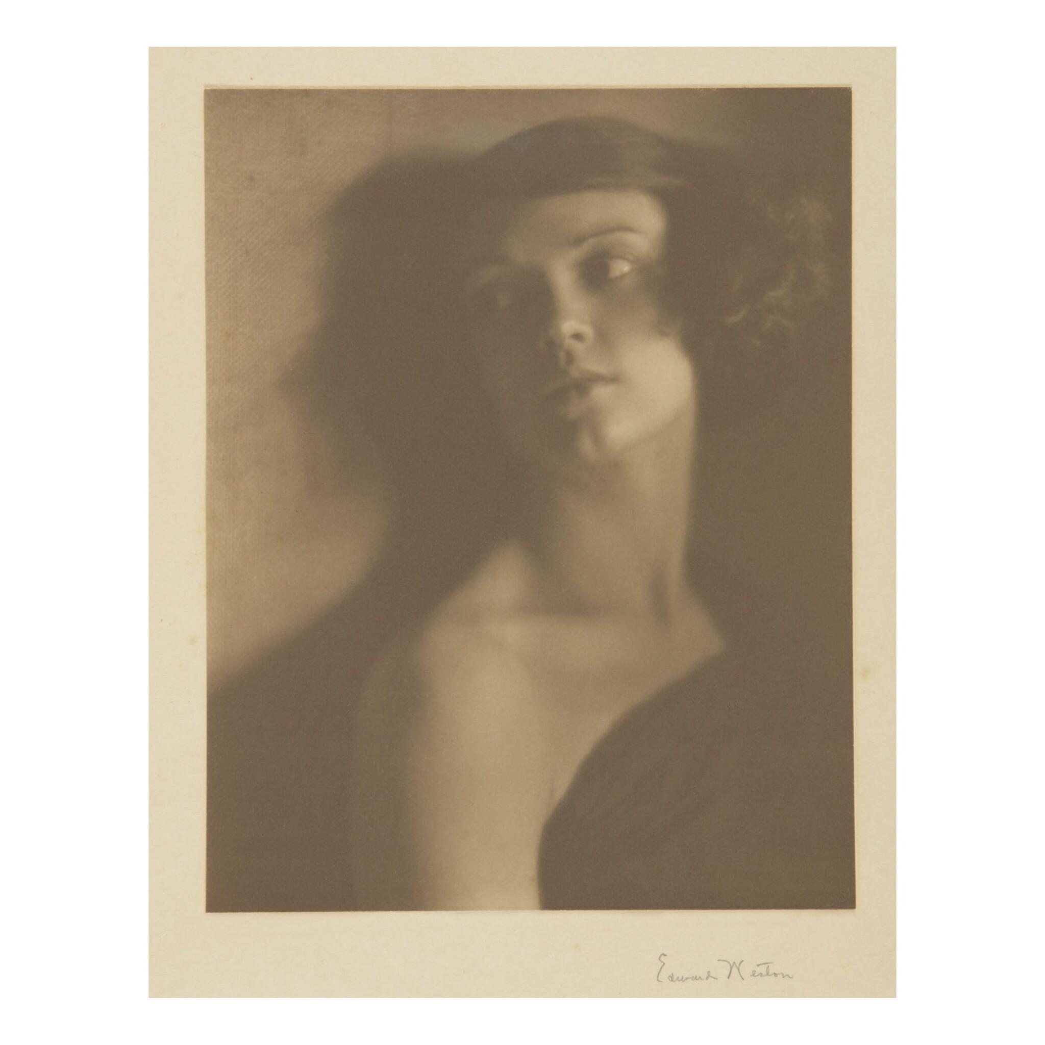 EDWARD WESTON   PORTRAIT OF VIRGINIA 'MIMI' WHITEHEAD