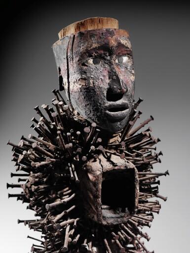 View 1. Thumbnail of Lot 46. Statue nkonde, Kongo Vili, République Démocratique du Congo | Kongo Vili nkonde figure, Democratic Republic of the Congo.