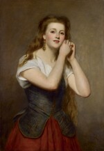 WILLIAM POWELL FRITH, R.A. | The New Earrings