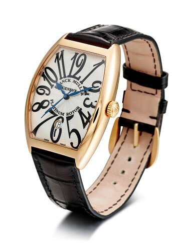 View 2. Thumbnail of Lot 4006. FRANCK MULLER   CURVEX, REFERENCE 6850 B SC DT VA, A PINK GOLD WRISTWATCH WITH DATE, CIRCA 2018.