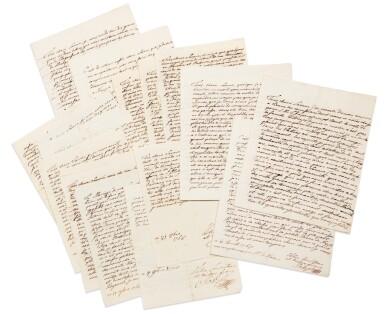 View 1. Thumbnail of Lot 8. JOSEPH II. Réunion de 19 LAS à sa sœur Marie-Caroline de Naples et de Sicile. 9 avril -17 novembre 1768. 32 p..