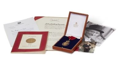 View 3. Thumbnail of Lot 17. COMPANION OF HONOUR, 1984, AWARDED BY QUEEN ELIZABETH II.
