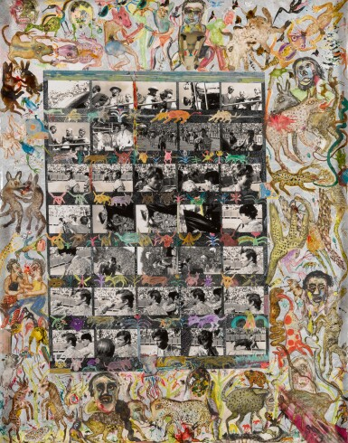 View 1. Thumbnail of Lot 65. PETER BEARD | 'UNTITLED (PICASSO CONTACT SHEET)', 1964.
