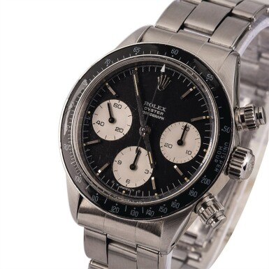 "ROLEX | Daytona, Ref. 6263, A Stainless Steel Chronograph Wristwatch with ""Sigma"" Dial and Oyster Bracelet, Circa 1974"