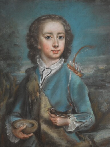 View 2. Thumbnail of Lot 18. ATTRIBUTED TO ARTHUR POND | PORTRAIT OF CLOTWORTHY, LORD LOUGHNEAGH, LATER, 2ND EARL OF MASSEREENE (1743-1805).