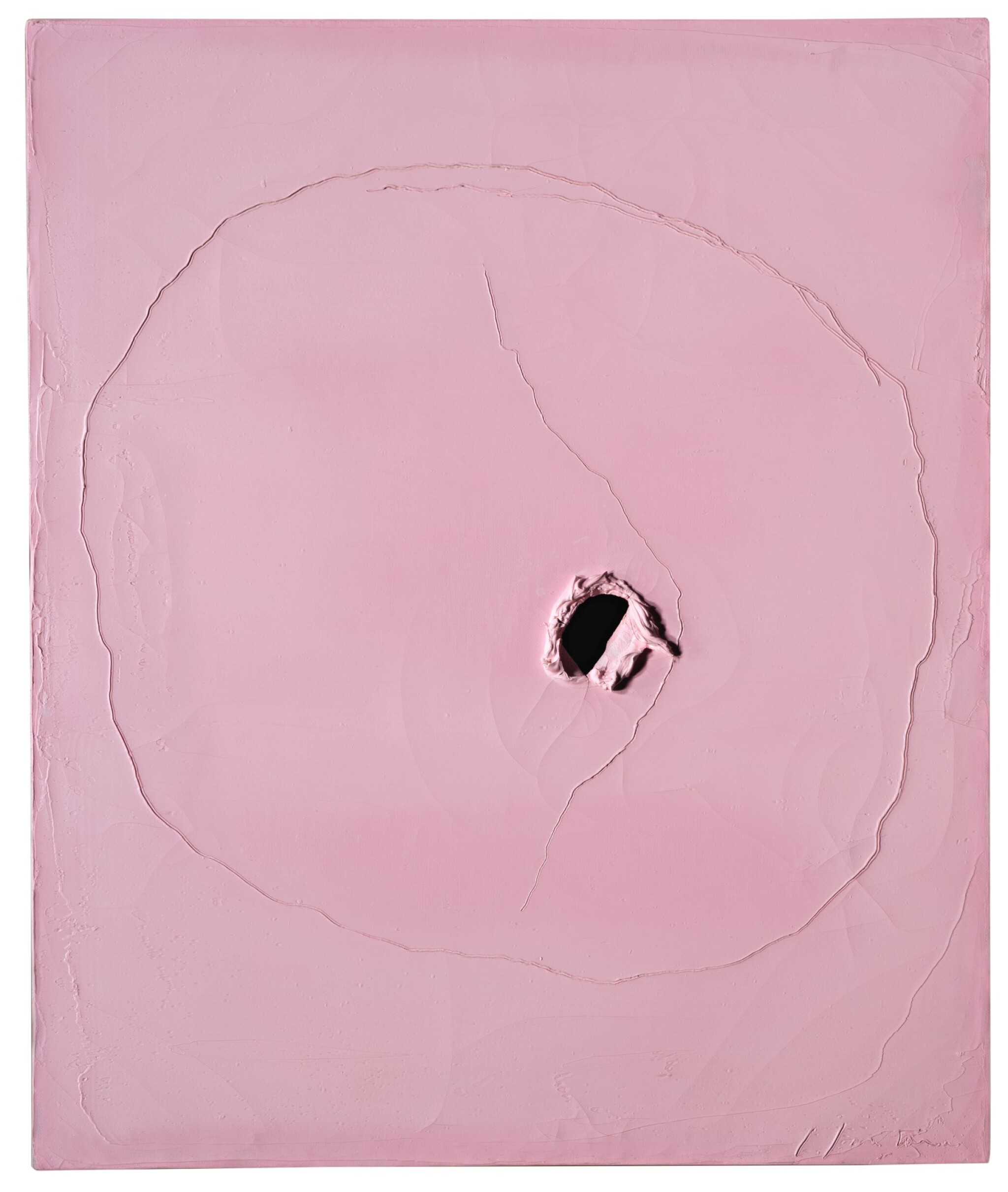 View full screen - View 1 of Lot 52. LUCIO FONTANA   CONCETTO SPAZIALE.