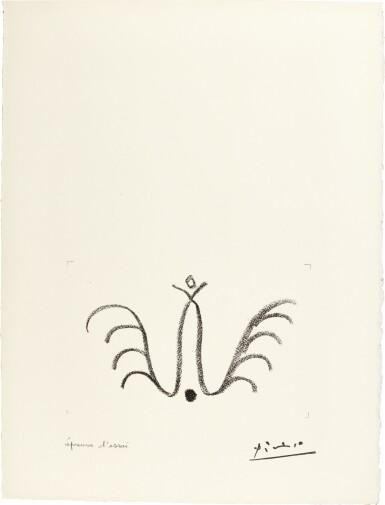 PABLO PICASSO | PICASSO DE 1916 À 1961 (B. 1040; M. 369; SEE CRAMER BOOKS 117)