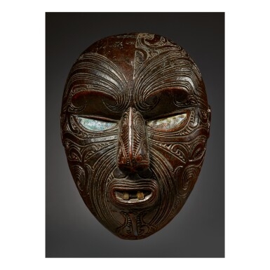 MAORI HEAD, NEW ZEALAND
