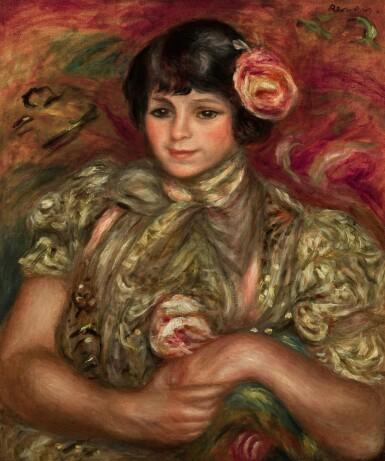 View 1. Thumbnail of Lot 131. Femme à la rose | 《手持玫瑰的女子》.