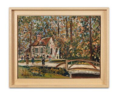 View 2. Thumbnail of Lot 254. Versailles - parc du petit Trianon - Le Boudoir.