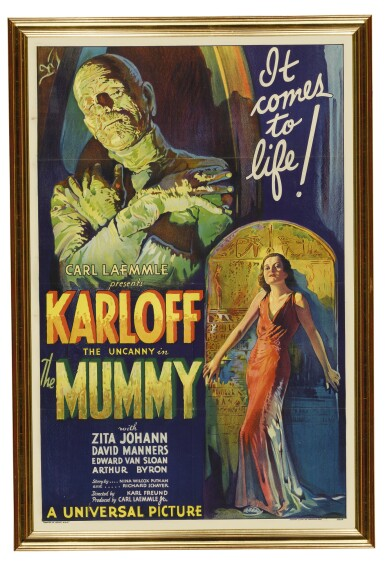 View 2. Thumbnail of Lot 1. The Mummy.