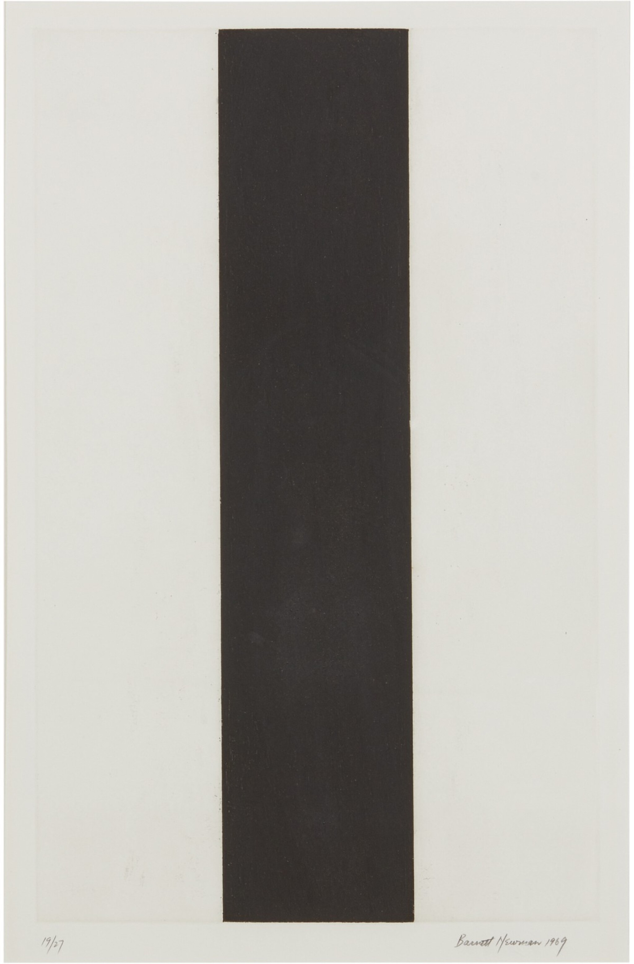 View 1 of Lot 205. BARNETT NEWMAN | UNTITLED ETCHING 2.
