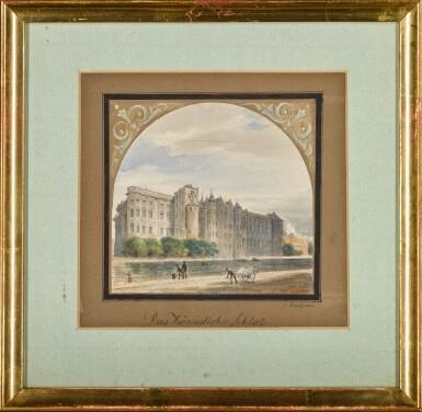 View 2. Thumbnail of Lot 56. Das königliche Schloß (The Royal Palace).