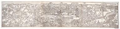 View 1. Thumbnail of Lot 234. Jerusalem and Palestine, Panorama, 1502.