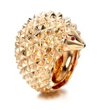 RUBY RING, 'HANS, THE HEDGEHOG', BOUCHERON