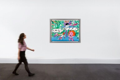 View 4. Thumbnail of Lot 21. KENNY SCHARF | OMG, WTF!.