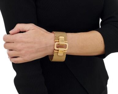 View 4. Thumbnail of Lot 37. Two-tone bracelet (Bracciale in oro bicolore), 1955.