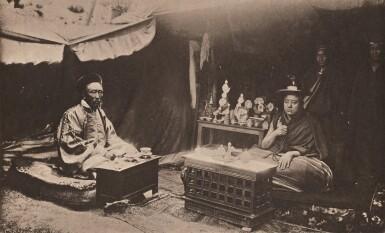 View 6. Thumbnail of Lot 181. Tibet—John Claude White | Tibet and Lhasa. Calcutta: Johnston and Hoffmann, [1908].