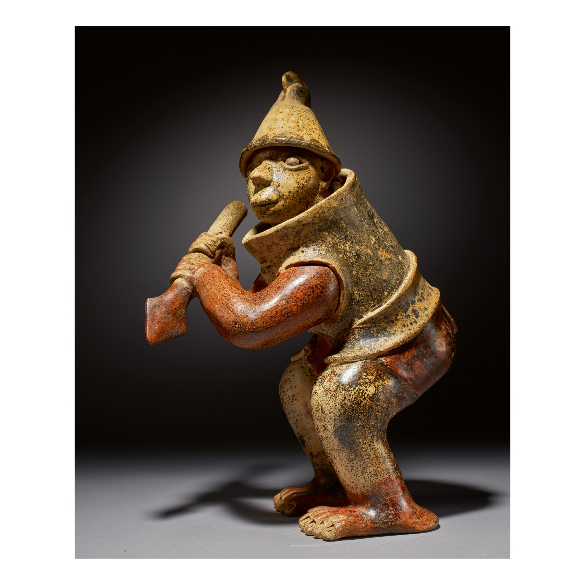 View full screen - View 1 of Lot 154. JALISCO STANDING WARRIOR, AMECA STYLE PROTOCLASSIC, CIRCA 100 BC-AD 250.