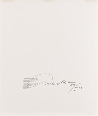View 3. Thumbnail of Lot 125. RICHARD AVEDON   'MARELLA AGNELLI, NEW YORK STUDIO', DECEMBER, 1953.