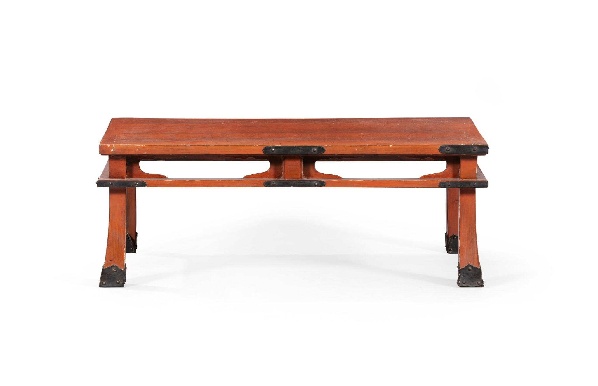View full screen - View 1 of Lot 223. A large wood lacquered stand, Japan, 19th century.
