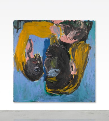 View 2. Thumbnail of Lot 135.  GEORG BASELITZ | MUTTER UND KIND (MOTHER AND CHILD).