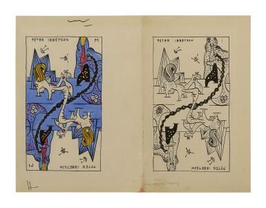 View 1. Thumbnail of Lot 4. GORDON ONSLOW-FORD   PETER IBBETSON—LA JEU DE MARSEILLES.