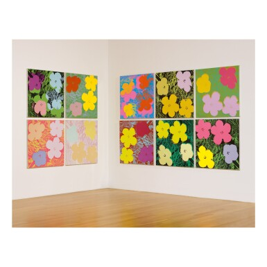 View 12. Thumbnail of Lot 63. ANDY WARHOL | FLOWERS (F. & S. II.64-73).