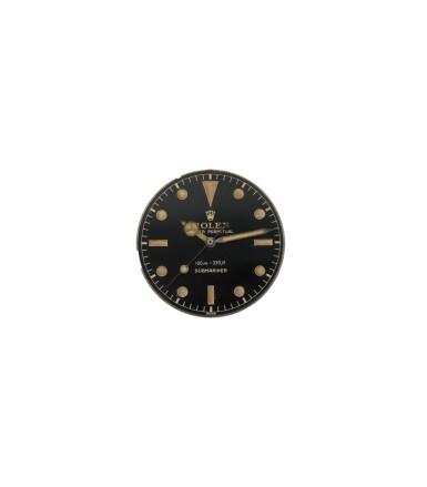 View 7. Thumbnail of Lot 35. 'James Bond Small Crown' Submariner, Ref. 6536/1 Stainless steel wristwatch with bracelet Circa 1955   勞力士6536/1型號「'James Bond Small Crown' Submariner」精鋼鍊帶腕錶,年份約1955.